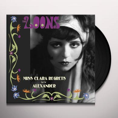 Loons MISS CLARA REGRETS Vinyl Record - UK Import
