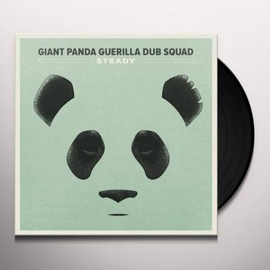 Giant Panda Guerilla Dub Squad STEADY Vinyl Record - UK Import