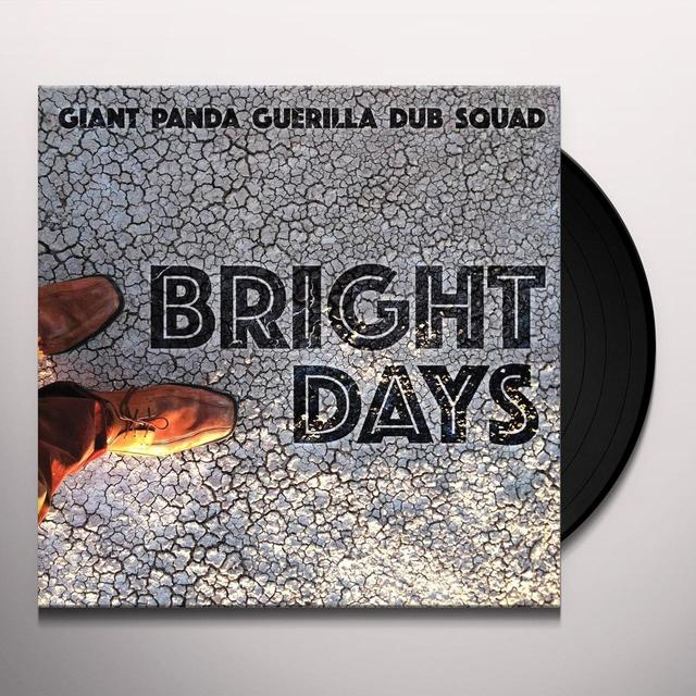 Giant Panda Guerilla Dub Squad BRIGHT DAYS Vinyl Record - UK Import