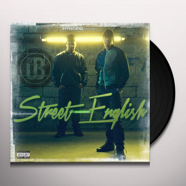 UNION BLAK STREET ENGLISH Vinyl Record - UK Import