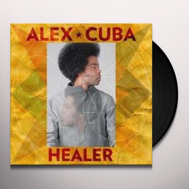 Alex Cuba HEALER Vinyl Record - Canada Import