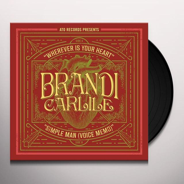 Brandie Carlile WHEREVER IS YOUR HEART Vinyl Record - Canada Import