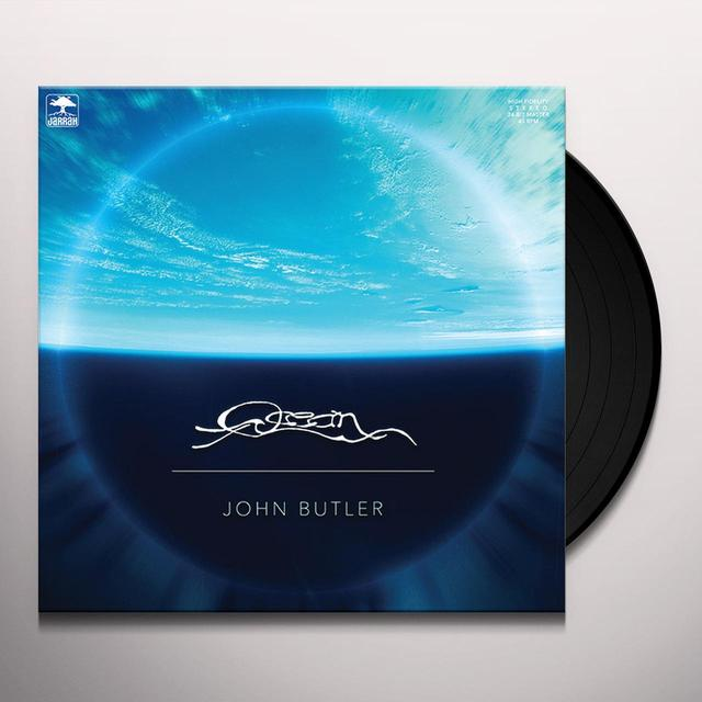 John Butler OCEAN Vinyl Record - Australia Import