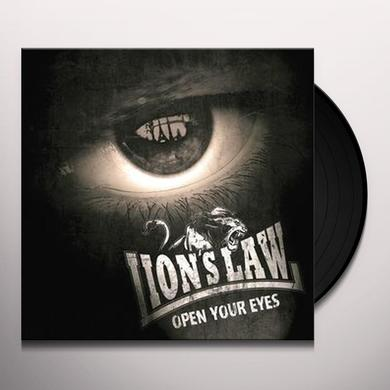LION'S LAW OPEN YOUR EYES Vinyl Record