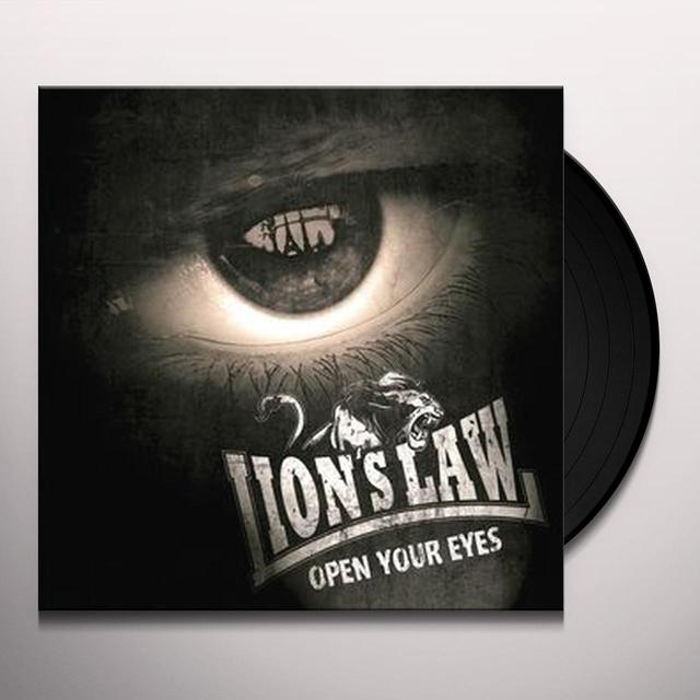 LION'S LAW OPEN YOUR EYES Vinyl Record - UK Import