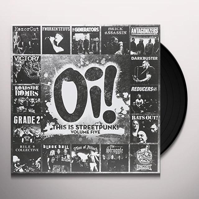 OI THIS IS STREETPUNK VOL. 7 / VARIOUS (UK) OI THIS IS STREETPUNK VOL. 7 / VARIOUS Vinyl Record - UK Import
