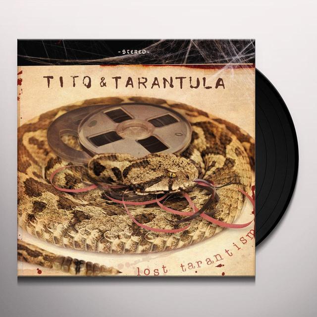 Tito & Tarantula LOST TARANTISM Vinyl Record - UK Import