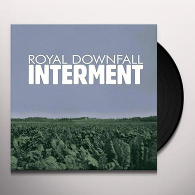 ROYAL DOWNFALL INTERMENT Vinyl Record