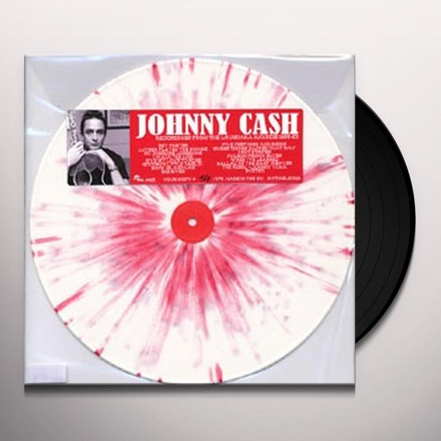 Johnny Cash LOUISIANA HAYRIDE RECORDINGS Vinyl Record