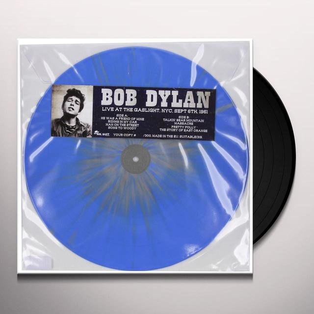 Bob Dylan GASLIGHT NYC SEPT. 6TH 1961 Vinyl Record