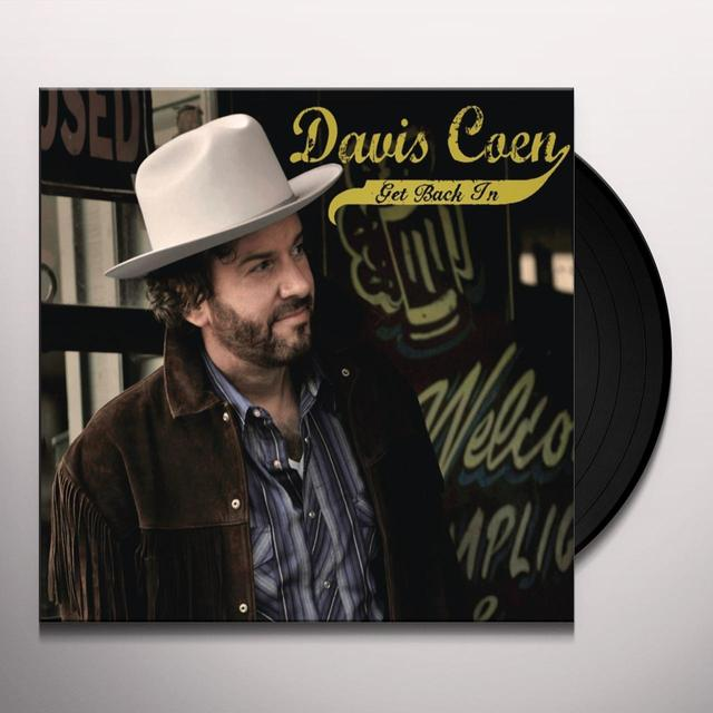 Davis Coen GET BACK IN Vinyl Record