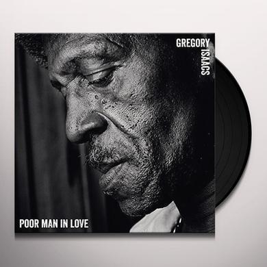 Gregory Isaacs POOR MAN IN LOVE Vinyl Record