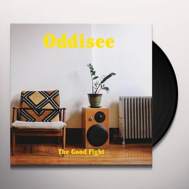 Oddisee GOOD FIGHT Vinyl Record