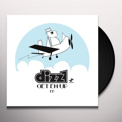 Dizz1 GET EM UP (EP) Vinyl Record - Limited Edition