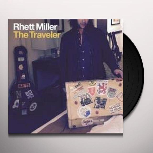 Rhett Miller with Black Prairie TRAVELER Vinyl Record