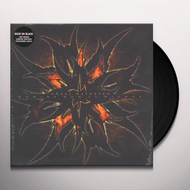 Anaal Nathrakh DOMINE NON ES DIGNUS Vinyl Record