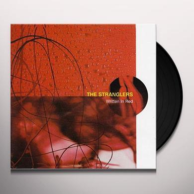 The Stranglers WRITTEN IN RED Vinyl Record