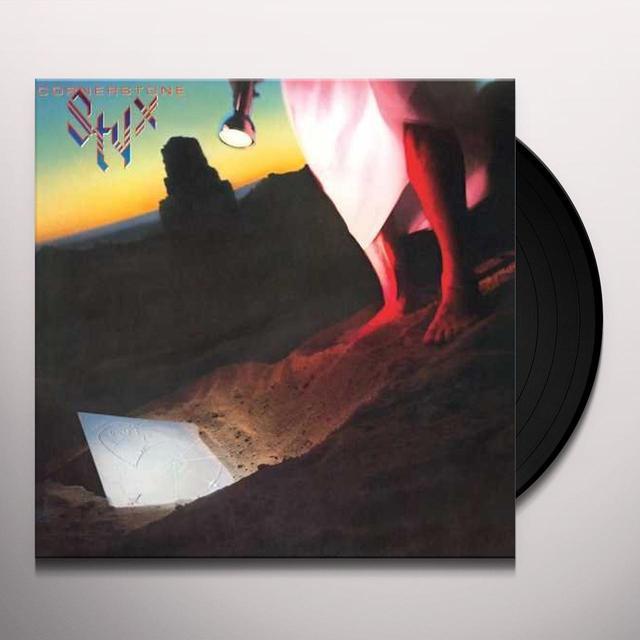 Styx CORNERSTONE Vinyl Record