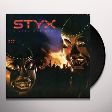 Styx KILROY WAS HERE Vinyl Record