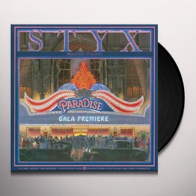 Styx PARADISE THEATER Vinyl Record