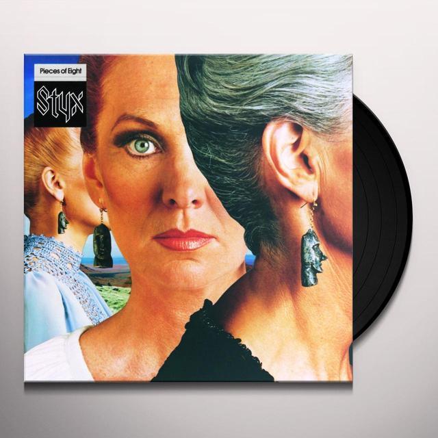 Styx PIECES OF EIGHT Vinyl Record - 180 Gram Pressing