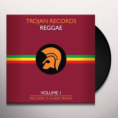 BEST OF TROJAN REGGAE 1 / VARIOUS Vinyl Record