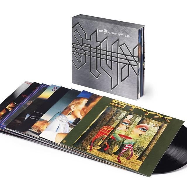 Styx A&M ALBUMS 1975-1984 Vinyl Record