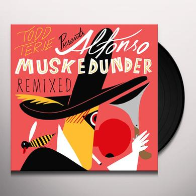 Todd Terje ALFONSO MUSKEDUNDER REMIXED Vinyl Record