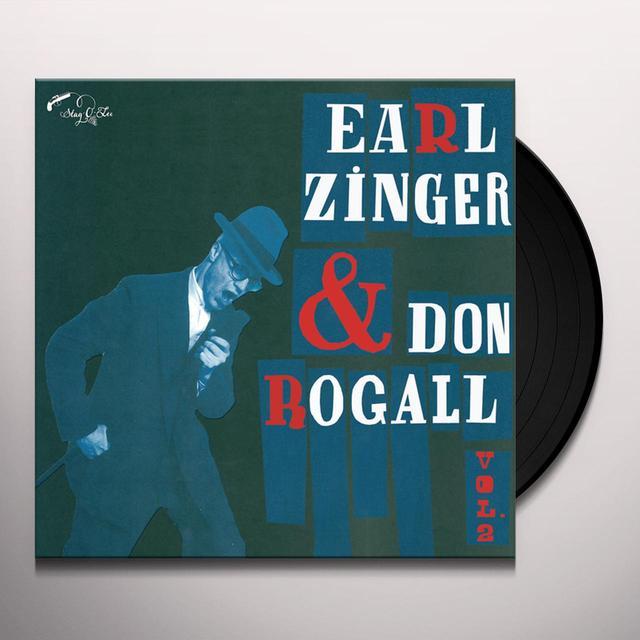 Earl Zinger & Don Rogall VOL. 2 Vinyl Record - 10 Inch Single