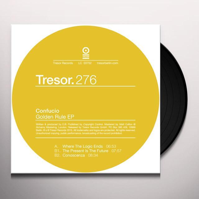 CONFUCIO GOLDEN RULE (EP) Vinyl Record