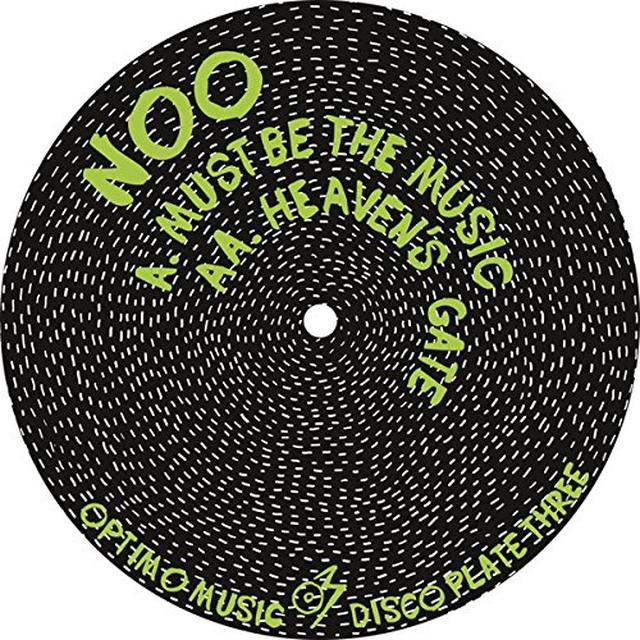 Noo OPTIMO MUSIC DISCO PLATE THREE Vinyl Record