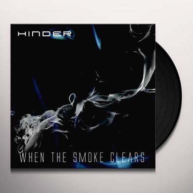 Hinder WHEN THE SMOKE CLEARS Vinyl Record