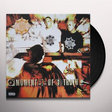 Gang Starr MOMENT OF TRUTH Vinyl Record