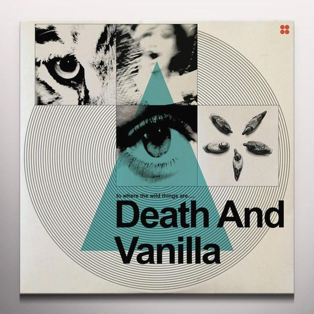DEATH & VANILLA WHERE THE WILD THINGS ARE Vinyl Record - Colored Vinyl, Orange Vinyl