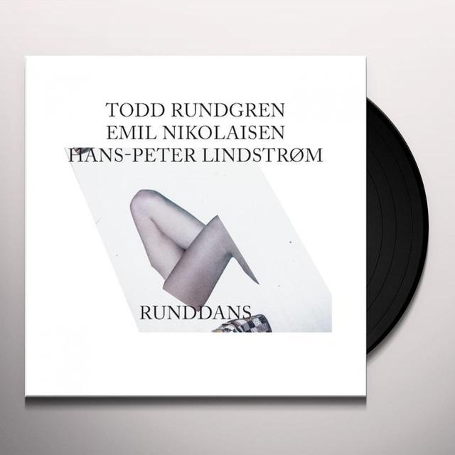 Todd Rundgren/Emil Nikolaisen/Hans-Peter Lindstrøm RUNDDANS Vinyl Record - Gatefold Sleeve