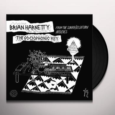 Brian Harnetty SOCIOPHONIC KEY Vinyl Record