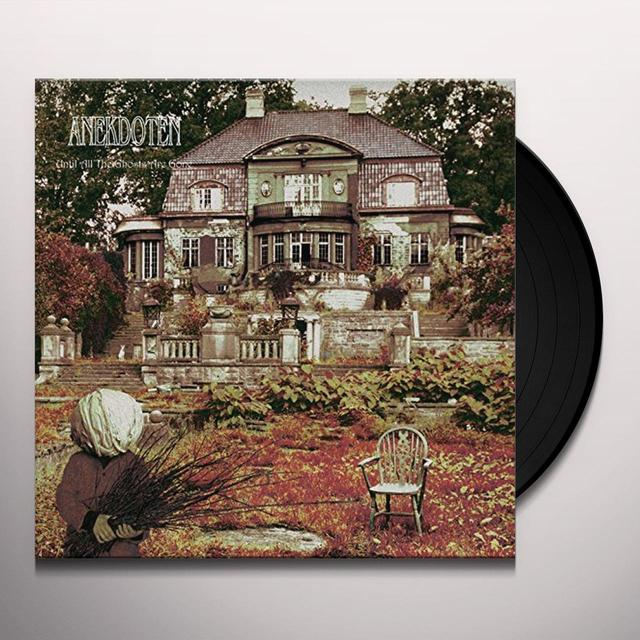 Anekdoten UNTIL ALL THE GHOSTS ARE GONE Vinyl Record - Holland Release