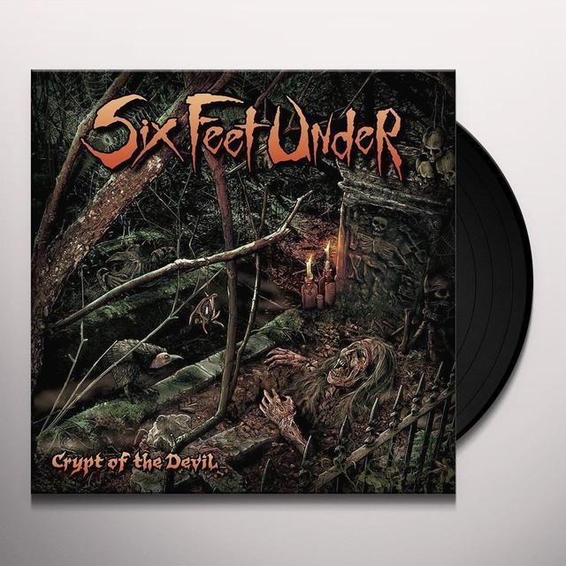 Six Feet Under CRYPT OF THE DEVIL Vinyl Record - UK Import