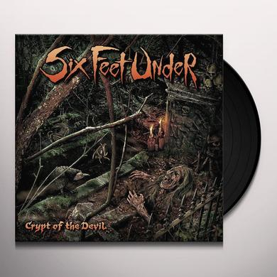 Six Feet Under CRYPT OF THE DEVIL Vinyl Record - UK Import