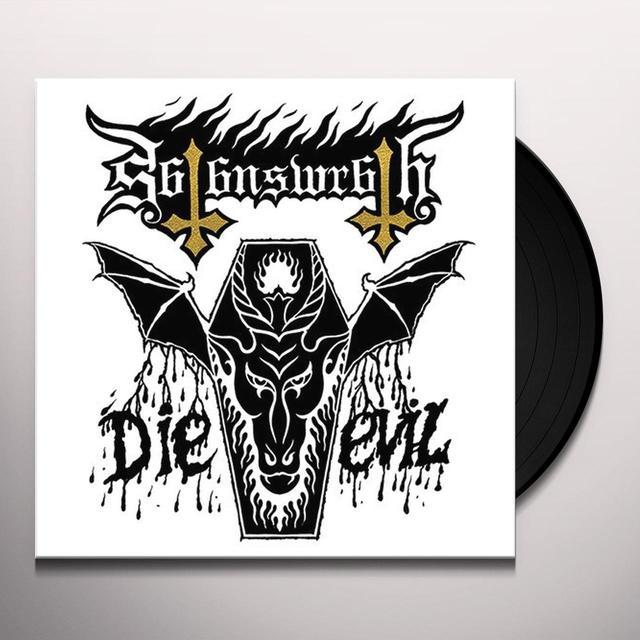 Satans Wrath DIE EVIL Vinyl Record - UK Import