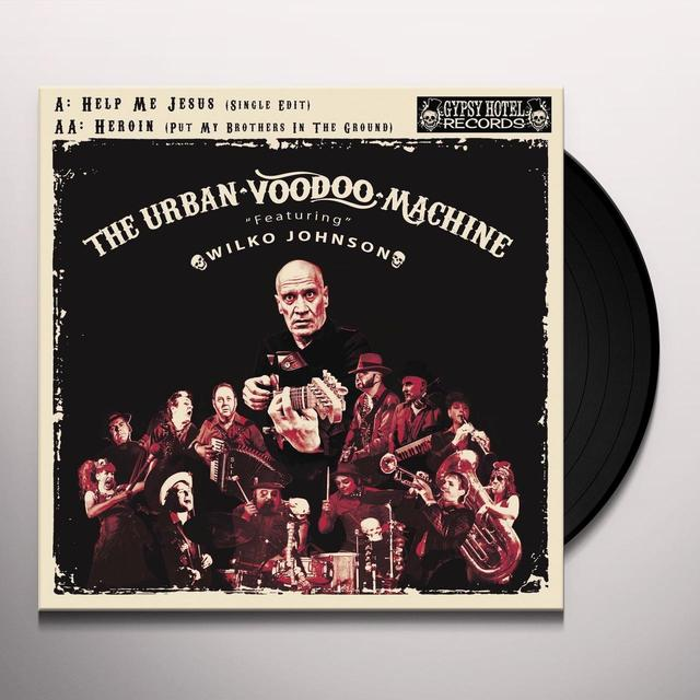 URBAN VOODOO MACHINE HELP ME JESUS / HEROIN Vinyl Record - UK Import
