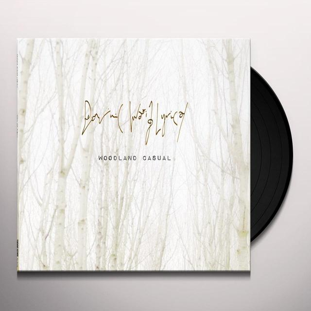 DOMINIC WAXING LYRIC WOODLAND CASUAL Vinyl Record - Canada Release