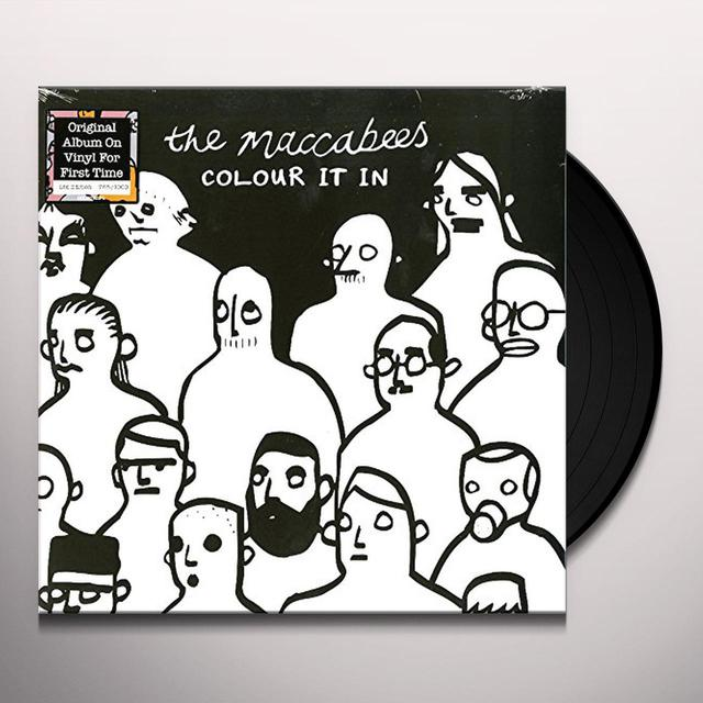 The Maccabees COLOUR IT IN Vinyl Record - Italy Release