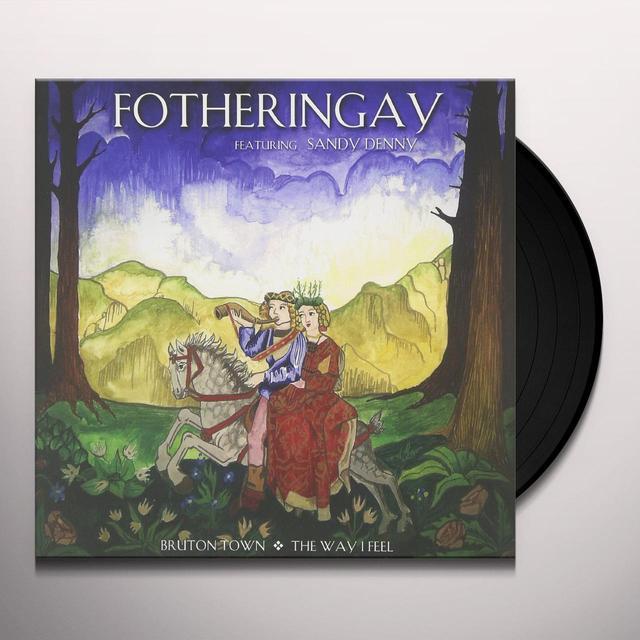 Fotheringay BRUTON TOWN / THE WAY I FEEL Vinyl Record - Italy Import