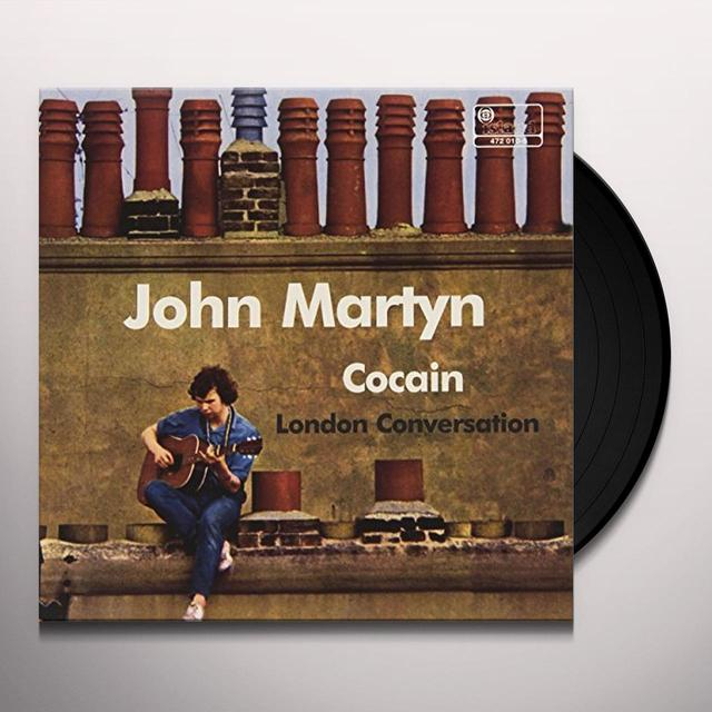 John Martyn COCAIN / LONDON CONVERSATION Vinyl Record - Italy Import