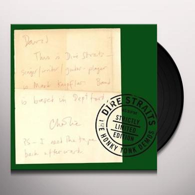 Dire Straits HONKY TONK DEMOS Vinyl Record - Holland Import