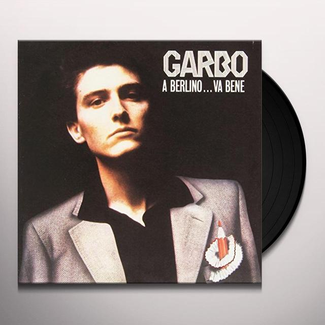 Garbo BERLINO VA BENE / ON THE RADIO Vinyl Record - Italy Import