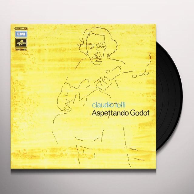 Claudio Lolli ASPETTANDO GODOT / MICHEL Vinyl Record - Italy Import