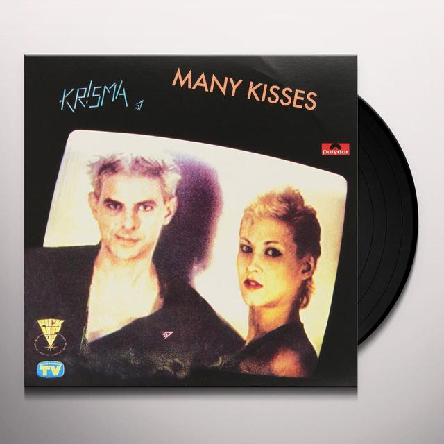 Krisma MANY KISSES / RIEN NE VA PLUS Vinyl Record - Italy Release