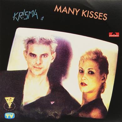 Krisma MANY KISSES / RIEN NE VA PLUS Vinyl Record - Italy Release